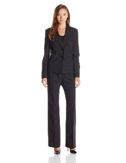 Le Suit - Pinstripe Jacket and Pant Suit