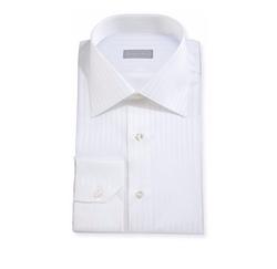Stefano Ricci - Tonal-Striped Woven Dress Shirt