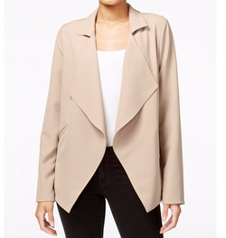 Kensie  - Draped Open-front Jacket