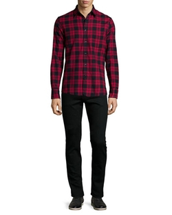 Rag & Bone - Check Long-Sleeve Shirt