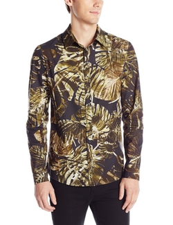 Clover Canyon - Ight Palms Poplin Button-Down Shirt