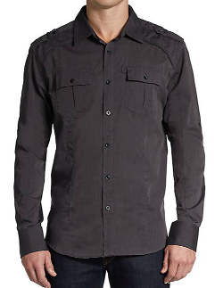 Sovereign Code  - Military Woven Sportshirt