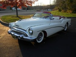 Buick  - 1953 Roadmaster Skylark Convertible Car