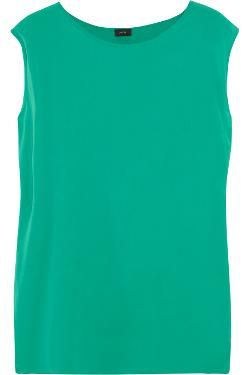 Joseph  - Reversible Washed-silk And Cotton-jersey Top