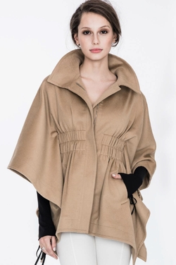 Chris Gramer - Corin Coat In Camel