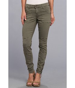 CJ by Cookie Johnson  - Peace Moto Skinny Distressed Dye