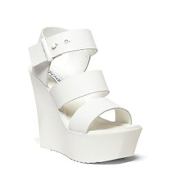 Steve Madden - Banda Ankle Strap Wedge Platform Shoes