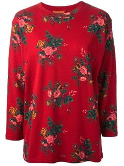 Kenzo Vintage - Floral-Print Sweater