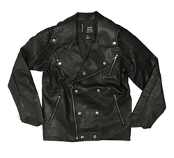Robert Phillipe - Leather Moto Biker Jacket