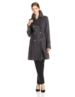 Vince Camuto - Military Wool Coat