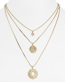 Kate Spade New York - Multi Strand Pendant Necklace