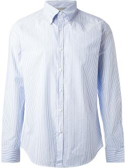 Brunello Cucinelli  - Fine Striped Shirt