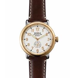 Shinola - Runwell Leather Watch
