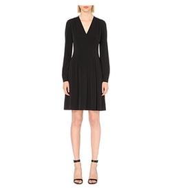 Michael Michael Kors  - V-Neck Jersey Dress