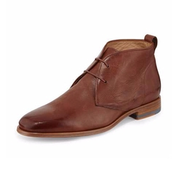 Vince  - Alberto Leather Chukka Boots