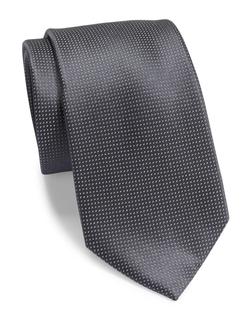 DKNY - Tobiko Woven Silk Tie
