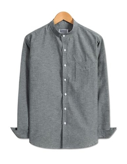 Showblanc - Mandarin Collar Modesty Dress Shirt