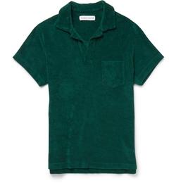 Orlebar Brown - Cotton-Terry Polo Shirt