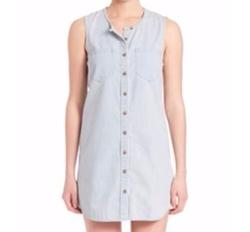 AG  - Ash Sleeveless Chambray Dress