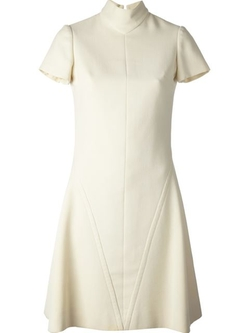 Christian Dior Vintage - Funnel Neck Dress