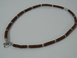 Thaiamulet - Coconut Shell Handmade Necklace