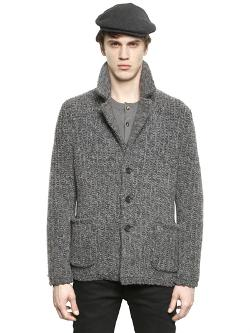 Dolce & Gabbana - Chunky Knitted Wool Jacket