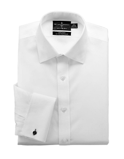 Black Brown 1826 - Broadcloth Dress Shirt