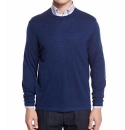 Neiman Marcus - Cashmere-Silk Crewneck Sweater