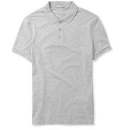 BURBERRY BRIT   - COTTON-JERSEY POLO SHIRT