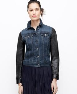 Ann Taylor - Petite Dressed Up Denim Jacket