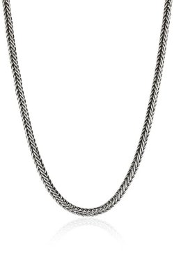 LH Men by Lois Hill - Square Indian Weave Necklace