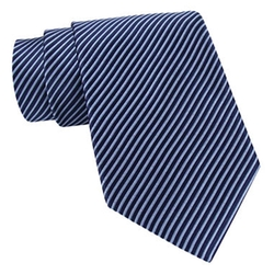 Stafford - Thin Stripe Silk Tie
