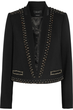 Isabel Marant - Embellished Wool Jacket
