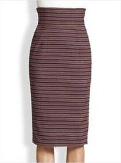 Stella Jean - Anphora Pencil Skirt