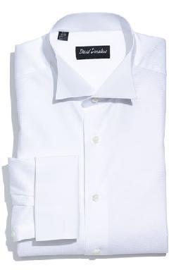 David Donahue  - Regular Fit Tuxedo Shirt