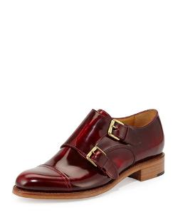 The Office of Angela Scott	 - Cap-Toe Monk-Strap Loafer