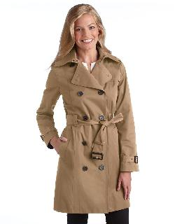 MICHAEL KORS - Double Breasted Trench Coat