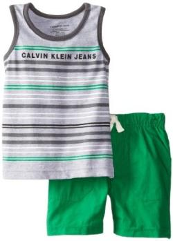 Calvin Klein  - Infant Tank Top with Shorts