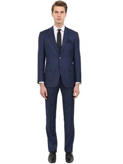 Brioni - Micro Textured Wool Suit