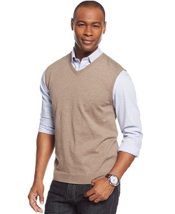 Tasso Elba - Novelty V-Neck Sweater Vest