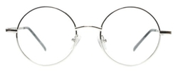 Tinetto - Full Rim Metal Round Eyeglasses Frame