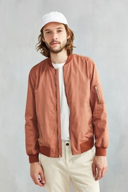 Urban Outfitters - CPO Nylon Summer Bomber Jacket