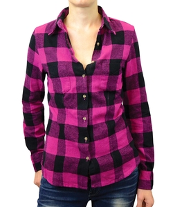 Bestall - Plaid Button-Up Shirt