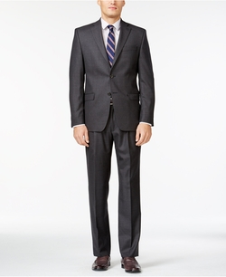 Ralph Lauren  - Total Comfort Charcoal Wool Classic-Fit Suit