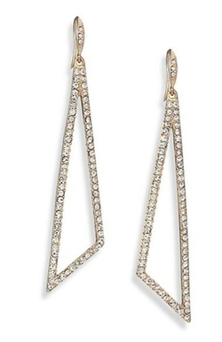 ABS By Allen Schwartz Jewelry - Openwork Geometric Drop Earrings