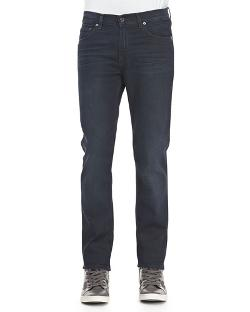 Acne Studios	 - Ace Soft Blue-Black Five-Pocket Jeans