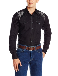 Wrangler  - Spread Collar And Cuffs Rock 47 Shirt