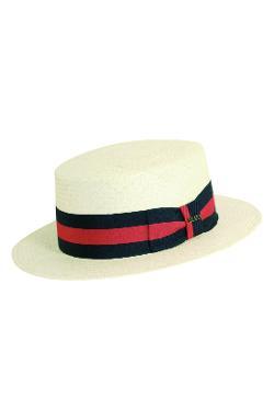 Scala  - Panama Straw Boater Hat