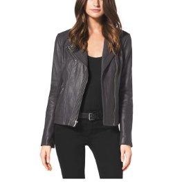 MICHAEL Michael Kors - Leather Moto Jacket