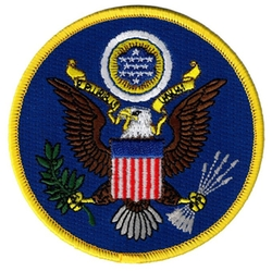 Cypress Collectibles Embroidered Patches - Great Seal United States Embroidered Patch